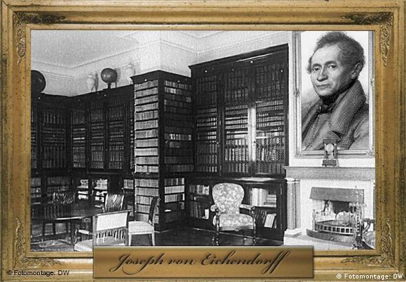 Joseph von Eichendorff (Porträt: picture alliance / akg-images, Montage: Philip Kleine / Peter Steinmetz)