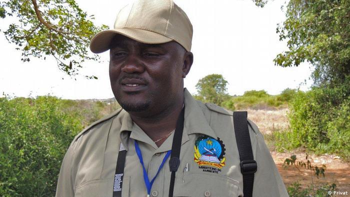 Nascimento António, Nationaler Direktor der Biodiversität des Umweltministeriums von Angola