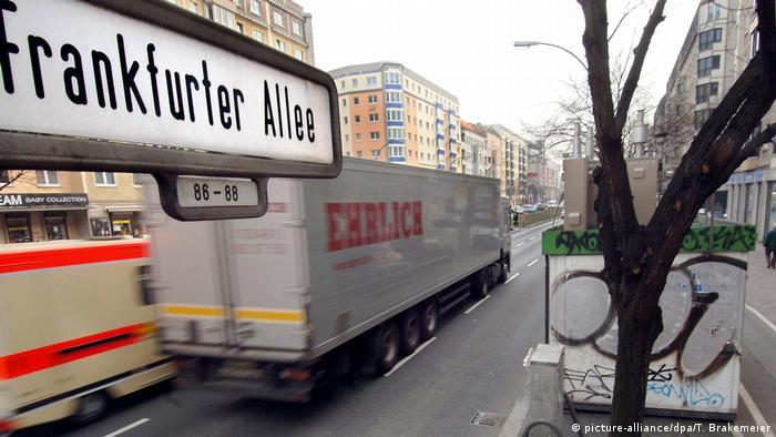Trucks in Berlin