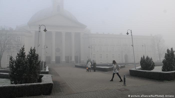 Europa Luftverschmutzung in Bydgoszcz, Polen (picture alliance/NurPhoto/J. Arriens)
