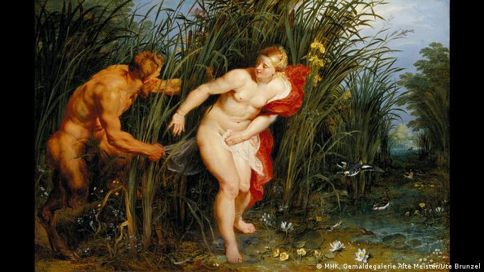 Peter Paul Rubens and Jan Brueghel the Elder painting Pan and Syrinx (MHK, Gemäldegalerie Alte Meister/Ute Brunzel)