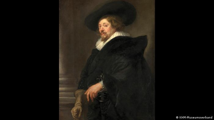 Peter Paul Rubens in a self-portrait (KHM-Museumsverband)