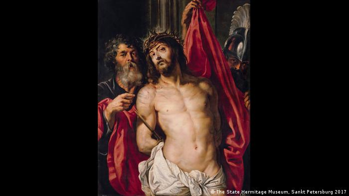 The Painting by Rubens Crown of Thorns shows Pontius Pilate presenting Jesus to the people (Foto: The State Hermitage Museum, Sankt Petersburg 2017)
