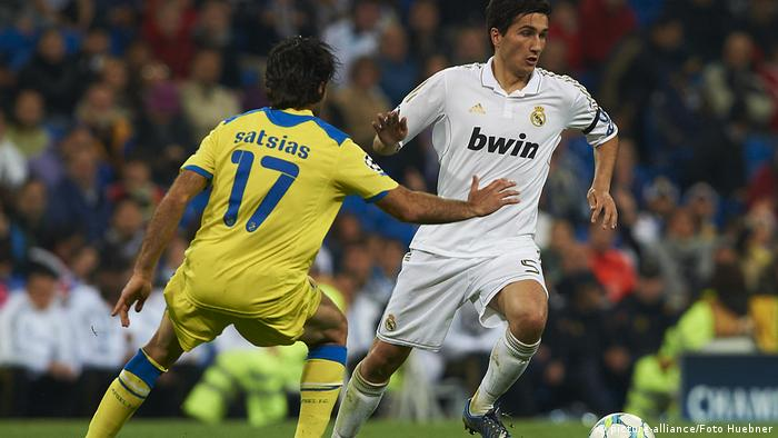 Nuri Sahin, playing for Real Madrid in the Champions League against APOEL Nicosia, 04.04.2012.