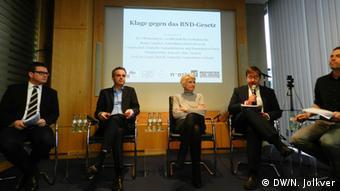 На пресс-конференции немецких НПО 30 января