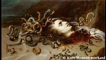 ACHTUNG: Nur zur aktuellen Berichterstattung zur genannten Ausstellung des Städel Museums! +++ 8.2.–21.5.2018 Peter Paul Rubens (1577-1640) Haupt der Medusa 1617/18 Öl auf Leinwand 68,5 cm × 118 cm Kunsthistorisches Museum, Wien © KHM-Museumsverband