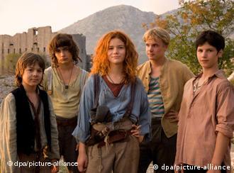 Scena iz filma Die rote Zora