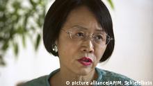 Hu Shuli Chefredakteurin von Caixin Media