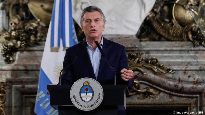 Argentinien Präsident Mauricio Macri (Imago/Agencia EFE)