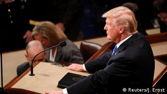 USA Donald Trump Rede zur Lage der Nation (Reuters/J. Ernst)