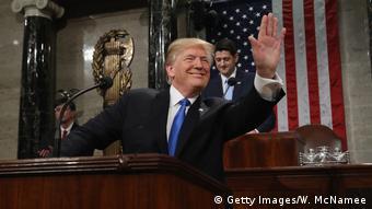 USA Donald Trump Rede zur Lage der Nation
