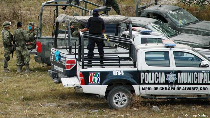 Mexiko Leichenfund im Bundesstaat Guerrero (Imago/Xinhua)