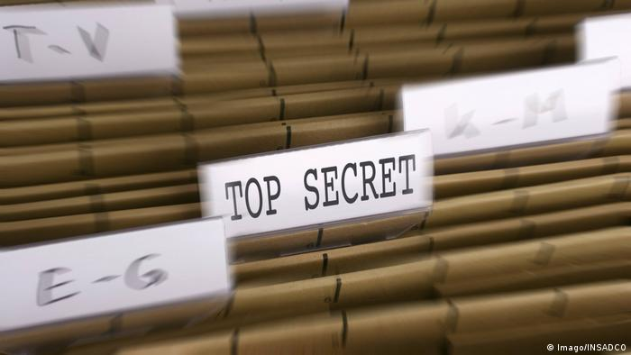 Top Secret - Symbolbild (Imago/INSADCO)