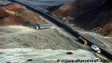 Peru Zerstörung der Nasca-Welterbestätte