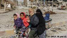 Syrien Raqqa Rückkehr ins Leben