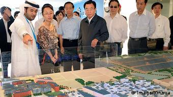 Делегация из Китая знакомится с проектом развития экогорода Масдара