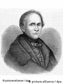 Zeitgenössische Illustration des deutschen Dichters Joseph Freiherr von Eichendorff (Foto: picture alliance / dpa)