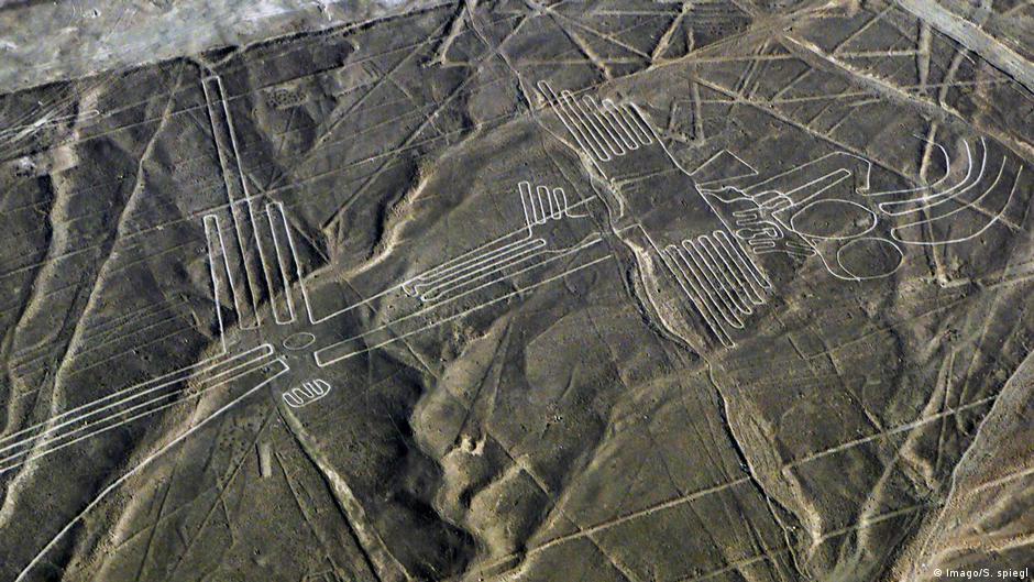 Truck Drives Over Peru Nazca Lines Damaging Unesco World