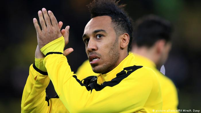Pierre-Emerick Aubameyang (picture-alliance/PA Wire/A. Davy)