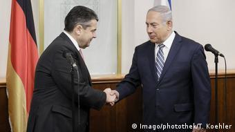 Jerusalem Sigmar Gabriel meets Benjamin Netanyahu (Imago/photothek/T. Koehler)