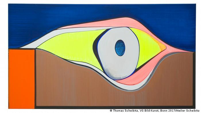 2ec62cfb1797 German artist Thomas Scheibitz astonishes with cinematic artwork ...