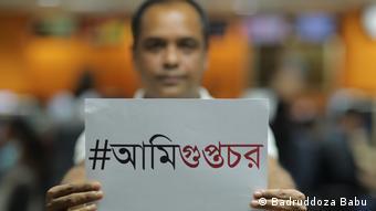 bangladeschischer Journalist Badruddoza Babu