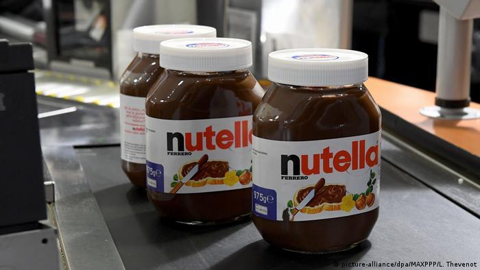 Nutella-Rabatte in Frankreich