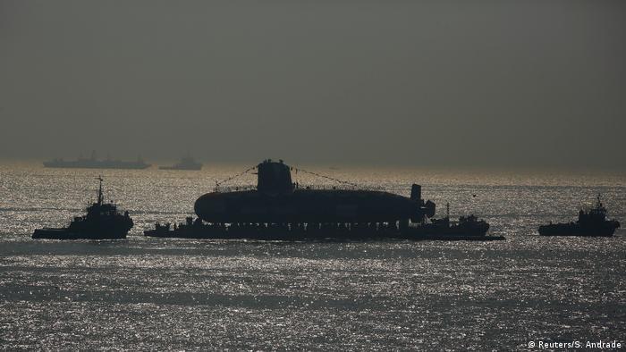 Indien Neues Militär U-Boot
