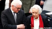 Berlin Holocaust Gedenkstunde im Bundestag | Frank-Walter Steinmeier und Anita Lasker-Wallfisch