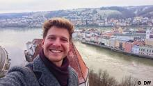 DW Sendung Check-in Lukas Stege in Passau