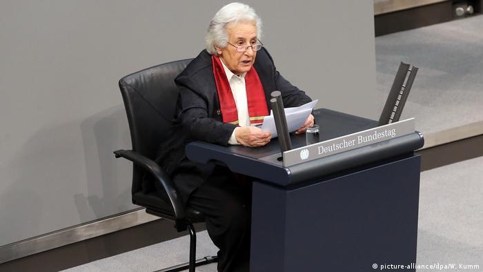 Berlin Holocaust Gedenkstunde im Bundestag   Anita Lasker-Wallfisch