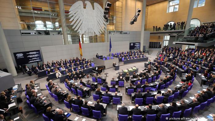 Berlin Holocaust Gedenkstunde im Bundestag