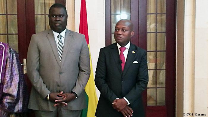 Novo primeiro-ministro guineense, Artur Silva, e Presidente José Mário Vaz