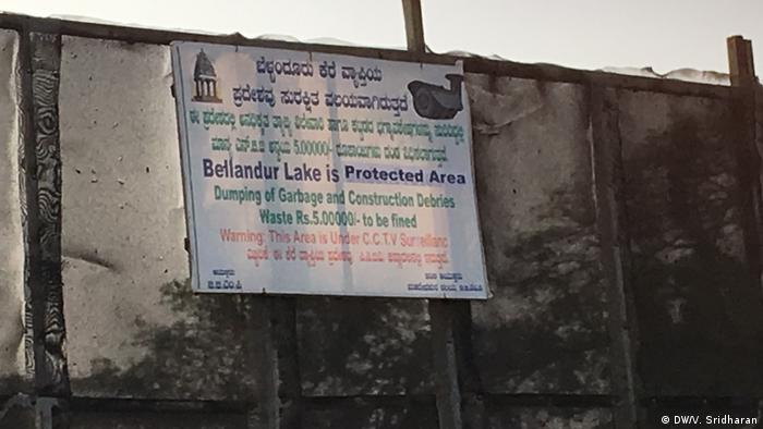Bellandur Lake - a frequently burning waterbody in India′s