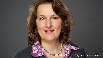 Ilka Hoffmann (GEW/Foto: Kay Herschelmann)