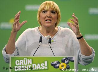 Yeşiller Partisi Eş Başkanı Claudia Roth