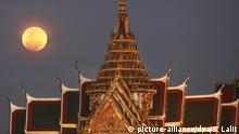 Supermond in Thailand