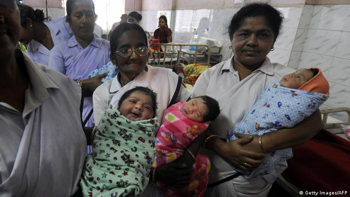 Indien Geburtenrate
