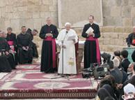 سخنرانی پاپ در کلیسای تاریخی موسی