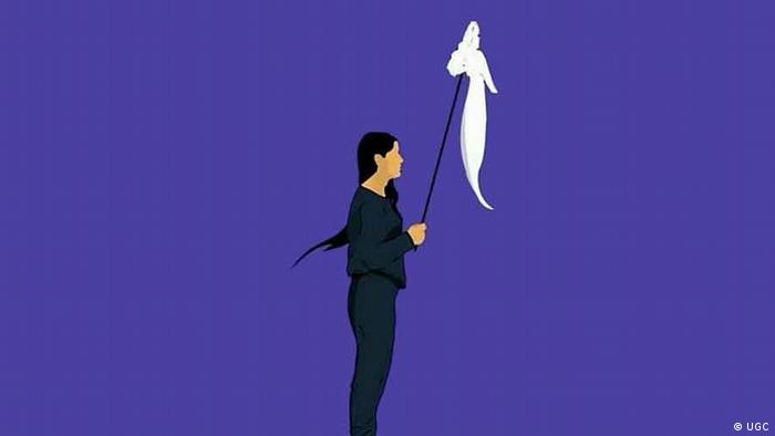 Iran Anti-Kopftuch-Proteste Weißer Mittwoch