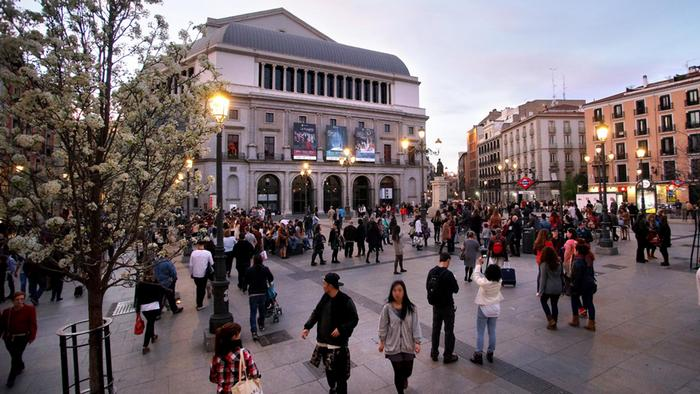 Spanien Teatro Real in Madrid