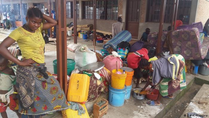 Refugiados congoleses em Rumonge