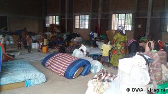 Burundi kongolesische Flüchtlinge in Rumonge