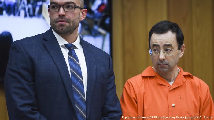 USA Prozess Missbrauchsskandal Larry Nassar