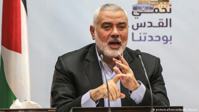 Ismail Haniyeh, de 55 anos, é líder do movimento palestino Hamas desde maio de 2017