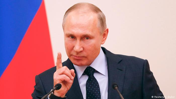 Russland Wladimir Putin, Präsident (Reuters/G. Dukor)
