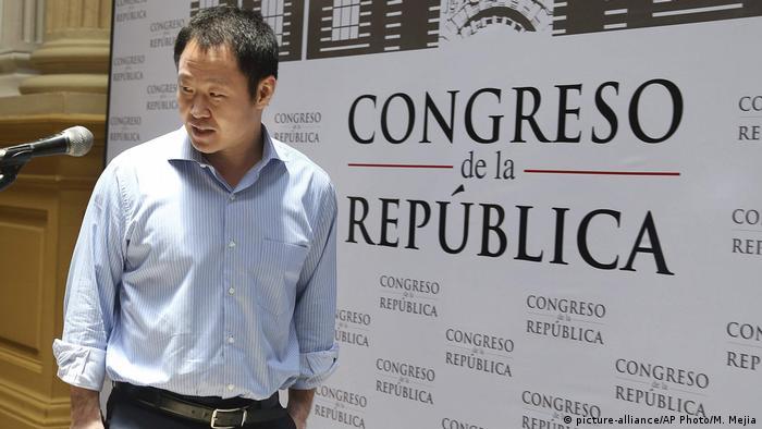Peru Kenji Fujimori, Geschäftsmann (picture-alliance/AP Photo/M. Mejia)