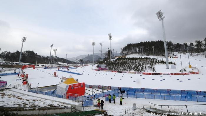 Olympische Winterspiele 2018 in Südkorea | Alpensia Sportpark (picture-alliance/AP Photo/L. Jin-Man)