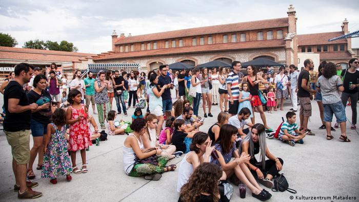 Spanien Kulturzentrum Matadero in Madrid (Kulturzentrum Matadero)