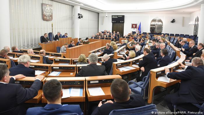 Голосування у польському Сенаті